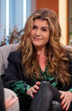 Connie Hyde At Lorraine TV show in London