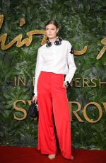Constance Jablonski At The British Fashion Awards, Royal Albert Hall, London