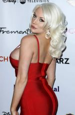 Courtney Stodden At 16th Annual JHRTS Holiday Celebration held at Boulevard3 in Hollywood