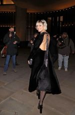 Daisy Lowe At the Vanity Fair x Bloomberg Climate Change Gala Dinner at Bloomberg London