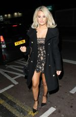 Danielle Armstrong Seen During A Night Out At Faces Essex