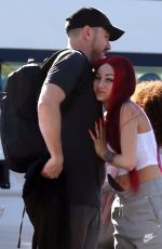 Danielle Bregoli Gets cozy with a mystery guy as she jets out of Perth