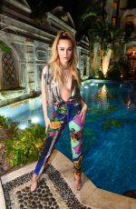 Delilah Belle At What Goes Around Comes Around 25th Anniversary Celebration, Versace Mansion, Miami Beach, Florida