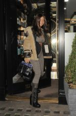 Demi Rose Arriving at Inanch salon in London