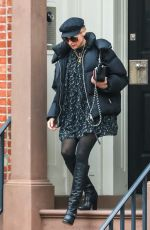 Diane Kruger Heads to the U.S. Passport Services Office in New York