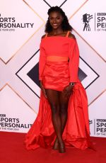 Dina Asher-Smith At BBC Sports Personality of the Year, Birmingham, UK