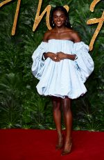 Dina Asher-Smith At The British Fashion Awards, Royal Albert Hall, London