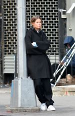 Doutzen Kroes Spotted During a Photo Shoot in New York City