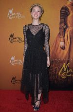 Elena Kampouris At Mary Queen of Scots NYC Premiere