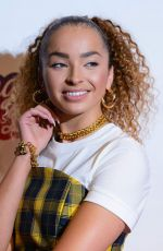 Ella Eyre Attends the Capital FM Jingle Bell Ball in London