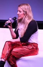 Ellie Goulding Hits Live at Radio Station Hits 97.3 in Hollywood