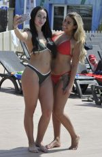 Ellie Young & Hayley Fanshaw Soak up the sun in Palma