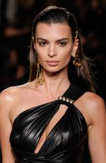 Emily Ratajkowski At Versace Pre-Fall 2019 Collection show in NYC