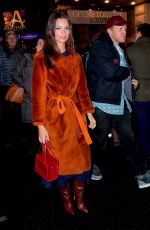 Emily Ratajkowski On a night out in NYC