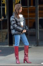 Emily Ratajkowski Out in New York City