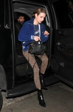Emma Roberts Arrives to the Peppermint Club for Dave Chappelle and John Mayer