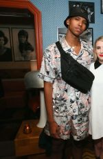 Emma Roberts At Cocktail in Honor of Theaster Gates in Miami