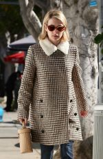 Emma Roberts Heads to a spa in Los Angeles