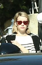 Emma Roberts Stops by a friend