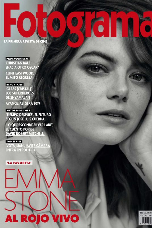 Emma Stone - Fotogramas Magazine January 2019