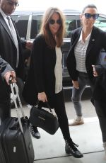 Felicity Jones Arrives at LAX Airport in Los Angeles