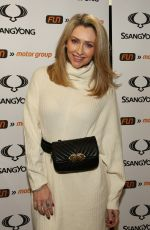 Gemma Merna At The Launch Of The New SsangYong Musso Pick Up Truck At Fun Motor Group In Darwen
