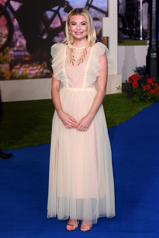 Georgia Toffolo At Mary Poppins Returns Film Premiere in London