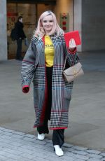 Grace Chatto Exits BBC Broadcasting House - London