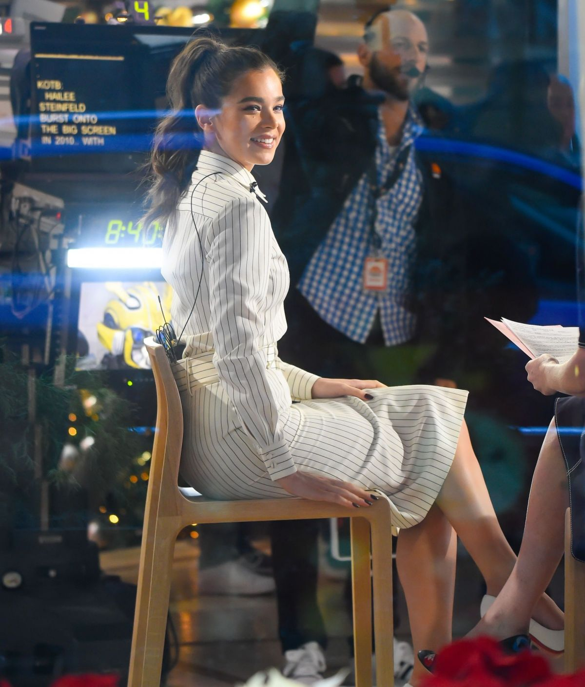 Hailee Steinfeld On set of the 'TODAY' show in New York City