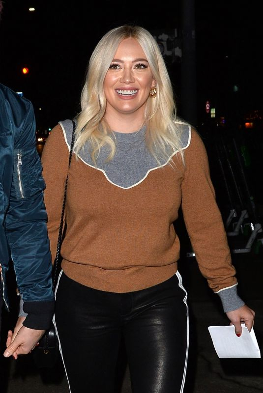 Hilary Duff and Matthew Koma out for an event at Rolling Greens in Beverly Hills
