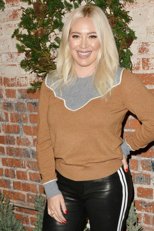Hilary Duff At 1st Annual Cocktails for a Cause with Love Leo Rescue, Los Angeles