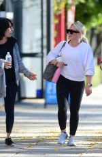 Hilary Duff Outside a gym in Los Angeles