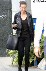 Hilary Swank Goes to a business meeeting in Beverly Hills