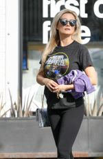 Holly Madison Out in Los Angeles