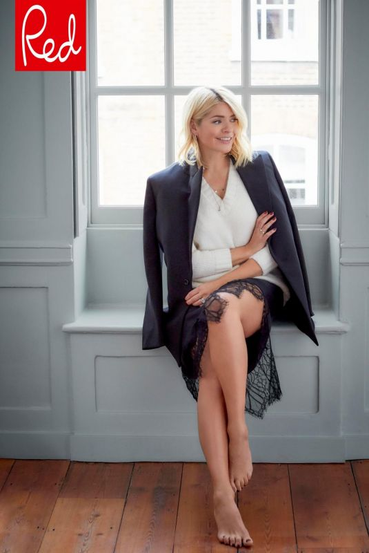 Holly Willoughby - Red Magazine, January 2019