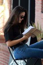 Isabelle Fuhrman Enjoying her Saturday at Alfred