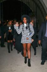 Janelle Monae Outside The Hearth & Hound Restaurant in Hollywood