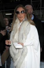 Jennifer Lopez Arrives at Watch What Happens Live in New York City