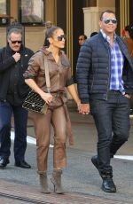 Jennifer Lopez At Christmas shopping at The Grove in Los Angeles
