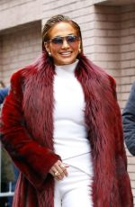Jennifer Lopez At the view tv show in NYC