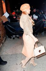 Jennifer Lopez Left a taping of the Daily Show with Trevor Noah in NYC