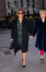 Jennifer Lopez Out with her mom in New York