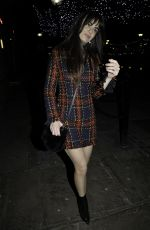 Jennifer Metcalfe At The Hollyoaks Christmas Party at Revolution Bar in Liverpool