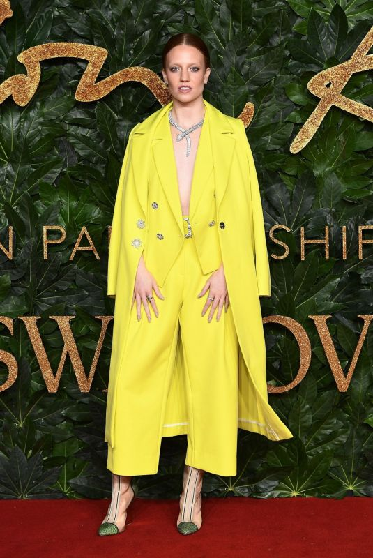 Jess Glynne At The British Fashion Awards in London