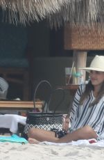 Jessica Alba Gets ready to welcome in the New Year in Puerto Vallarta, Mexico