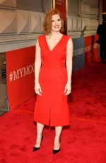 "Jessica Chastain At ""To Kill A Mockingbird"" opening night in NYC"