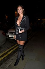 Jessica Shears At Missguide Christmas Night out in Manchester