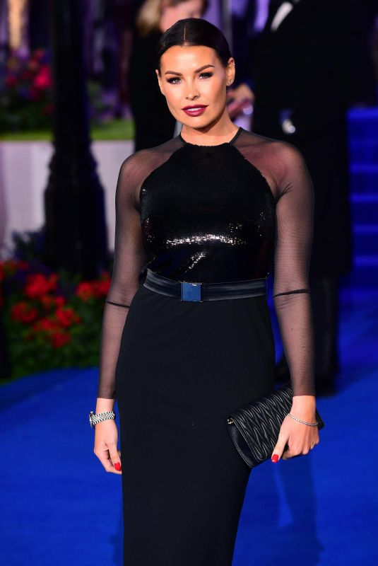 Jessica Wright At Mary Poppins Returns Film Premiere in London