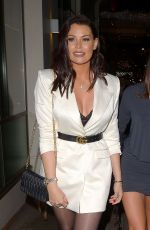 Jessica Wright At night out at The Mayfair Hotel Bar in Central London