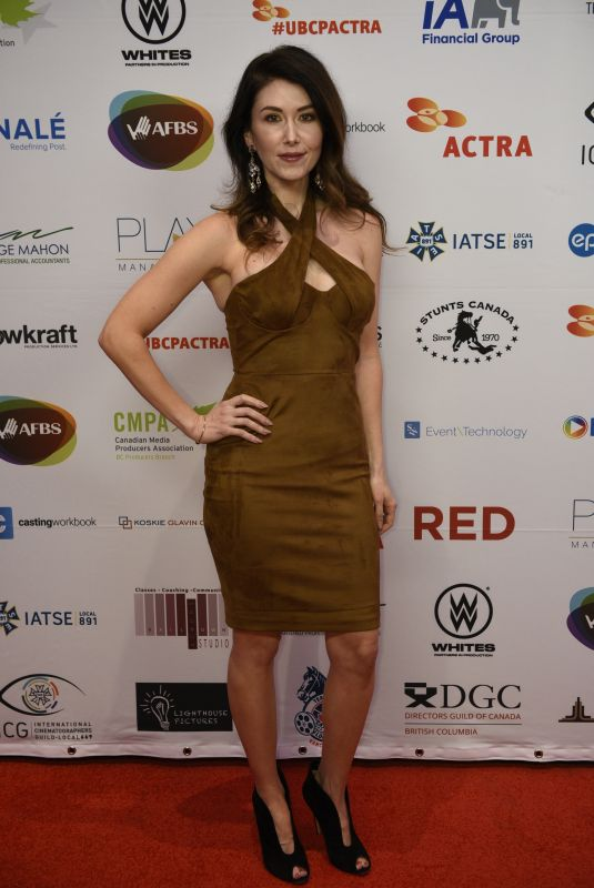 Jewel Staite At 7th annual UBCP/ACTRA Awards Gala at the Vancouver Playhouse
